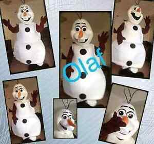 OLAF FROM FROZEN - costume hire. KIDS PARTIES, CHRISTMAS CONCERTS Castle Hill The Hills District Preview