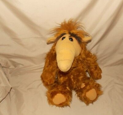 1986 ALF Stuffed Plush by Alien Productions COLECO Industries Alien Life Form