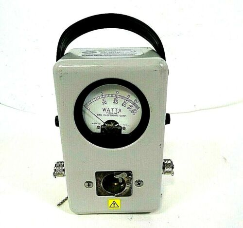 Vintage Bird Thruline Wattmeter - Model 43 - Impendance 50 ohms - Free Shipping