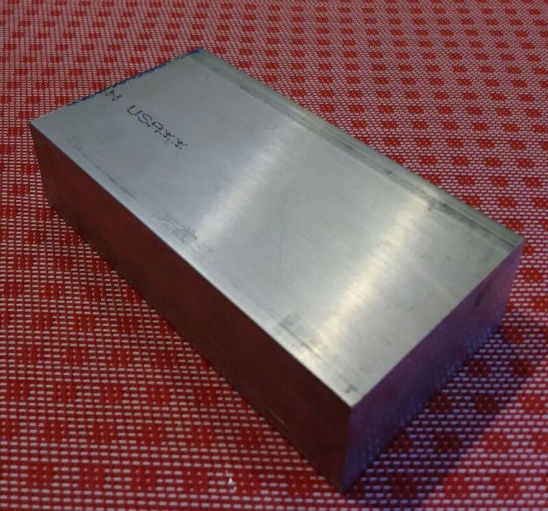 """1.5"""" X 5"""" X 8"""" aluminum 6061 T6511 new solid plate flat bar stock mill block MT"""