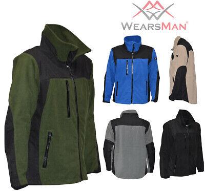 Arbeitsbekleidung Fleece Jacke Multiwork Arbeitsjacke Fleece Wasserbeständig Bekleidung Fleece Jacken