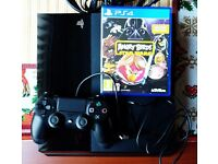 SONY PS4 PLAYSTATION 4 500GB GREAT CONDITION plus Angry Birds with box.
