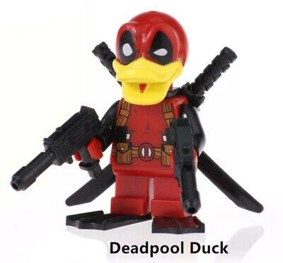 DEADPOOL DUCK!! Marvel Custom Minifigure