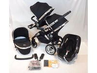 Icandy Peach Blossom Double Paid £1350 - Newborn & Toddler Set Up + Maxi Cosi Car Seat + Extra's ££
