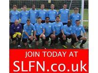 Join 11 aside football team London, find 11 aside football team London, play 11 aside LONDON