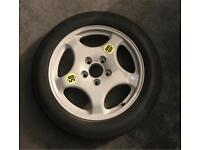 GENUINE BMW space-saver wheel