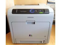 Samsung CLP-670ND Colour Laser Printer - Duplex & Networked - Leads & Toners