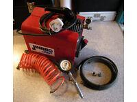 Vintage Clarke/FIMI Jumbo Air Compressor