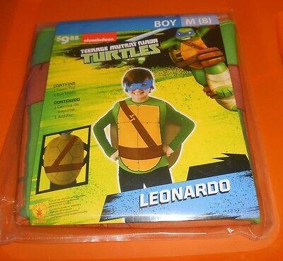 Rubies Teenage Mutant Ninja Turtle Leonardo Costume - Boy Size M (8) - NEW