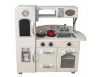 New Children's modern and traditional style wooden play cookers and Kitchens - Fast Free Delivery.