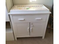 Changing table - Mothercare - white