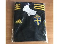 Sweden Training Top - Official Adidas Football Training Top - Mens, in sizes S,L,XXL