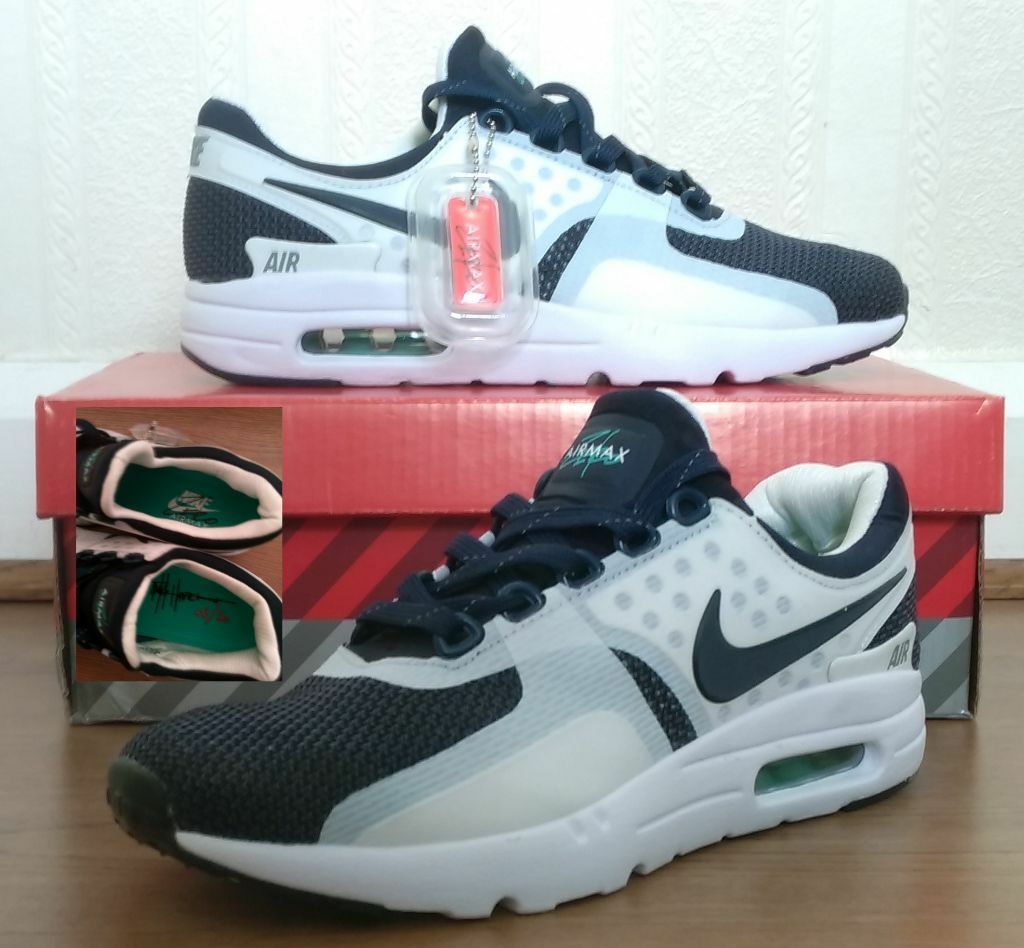 pseoy Nike Air max Zero Blue White airmax Size 7 | in Wallsend, Tyne and