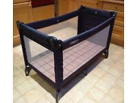 GRACO pack 'n play travel cot with bassinette & carry case, VGC, boxed