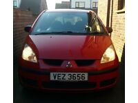 Red Mitsubishi Colt CZ 2008, Low Miles 57,000, 2 Lady Owners, New Clutch