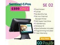 Touchscreen EPOS System for Restaurant POS Cash Register Till Takeaway Fast Food Grocery Store