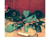 125 scooter and 125 motorcycle parts