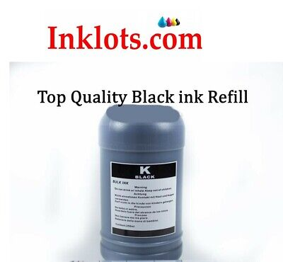 10 oz. black Refill Ink for Epson hp brother canon dell Lexmark ciss refillable
