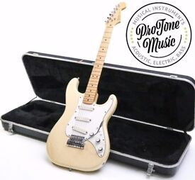 MINT! 1983 Fender USA Stratocaster Elite Blonde & Original Hard Case