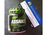 MusclePharm Assault Sport Series 30 Servings - superb effective pre-workout!