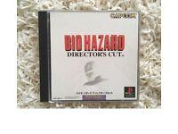 BIO HAZARD DIRECTOR'S CUT for Japanese PlayStation console.