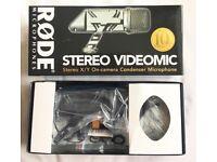 RØDE VideoMic Stereo On Camera Microphone