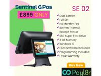 All in One Epos system. Touch Screen EPOS / POS for Takeaway & Retail. Full Set.New.