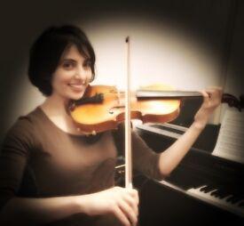 Violin tutor and Music Theory teacher