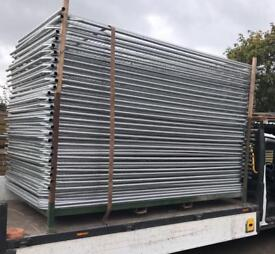 50 X New Heras Security Fence Panels