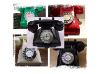 WANTED OLD TELEPHONE! RED, GREEN, IVORY, BLACK BAKELITE, EARLY PLASTIC. Always a polite response :0)