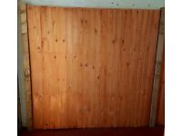 Fence Panels (6'x'6) buy 1 get one free