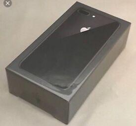 I phone 8 plus 64gb Space grey o2 network