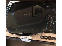 Samsung DVD player (full HD upscalling) in piano black