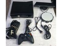 Xbox 360 - 250Gb + 17 games + controller + kinect + portal