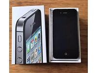 APPLE IPHONE 4S BLACK 16GB MINT CONDITION