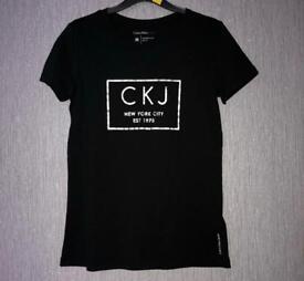 womens calvin klein t shirt size 12