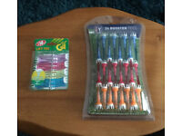 Golf Tees - 24 booster tees & 1 pack of 8 lift tees.