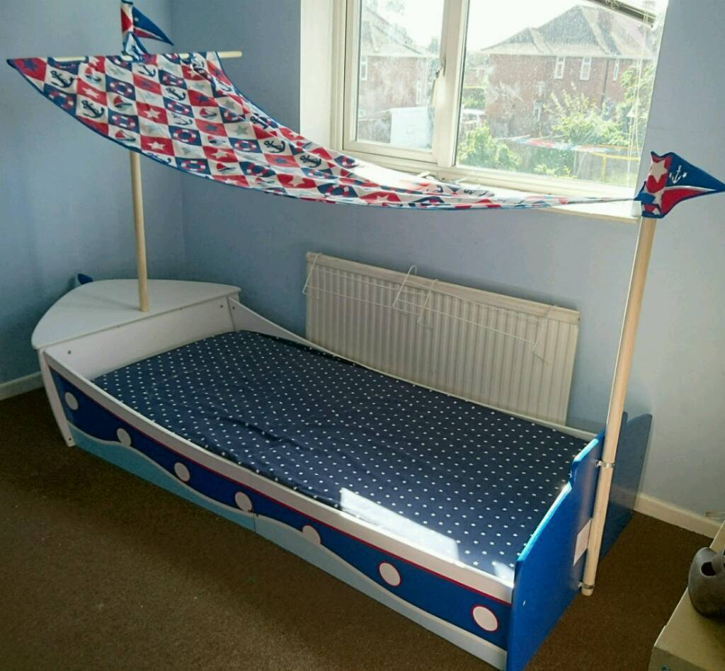 Next Pirate Ship Single Bed