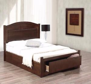 PLATFORM BED WITH STORAGE (ID-158)