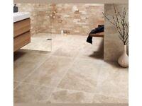 63 packs Johnson Tiles Imitations Madura Gold Satin Tile - 600x300mm. / Plytki ceramiczne