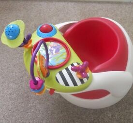 Mamas and paps snug seat with activity tray