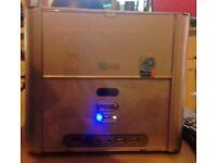 RS300 SHUTTLE PC TOWER WINDOWS XP HOME 80GB HDD 1GB RAM DUAL CORE CPU 3.0GHZ