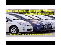 PCO CARS HIRE RENT-HAYBIRD +DIESEL UBER READY