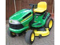 "John Deere X140 48"" Ride On Mower"