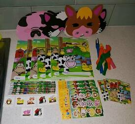 7 x Farm themed party bags