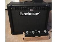 Blackstar ID60 Guitar Amplifier and FS10 Footswitch, as new, hardly used.