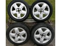 Set of Renault alloys