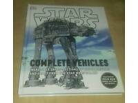 Star wars complete vehicles book -brand new