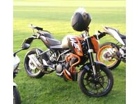 KTM DUKE 125 2015 ABS LOTS OF EXTRAS ONO MOTORBIKE MOTORCYCLE