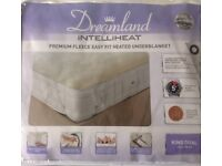 BRAND NEW Dreamland Intelliheat Electric Blanket King FAULTY